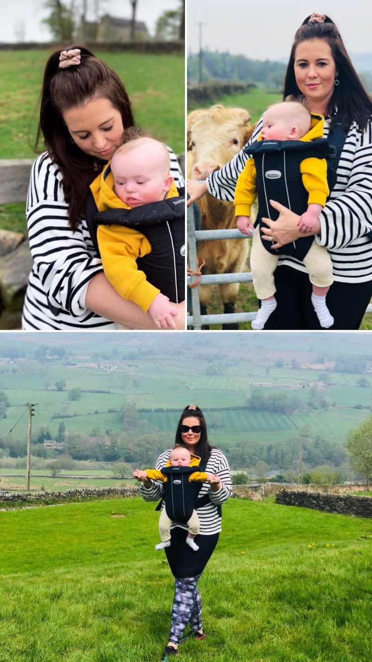 Countryside baby carrier