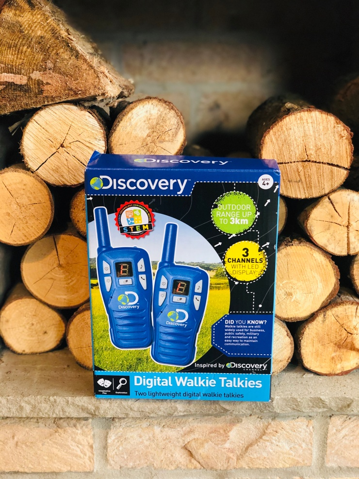 Discovery walkie talkies stem product toys kids