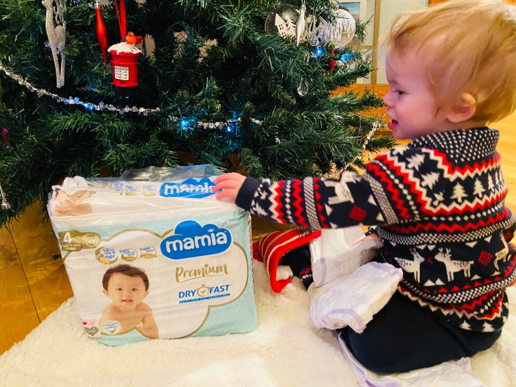 Mamia Aldi nappies baby