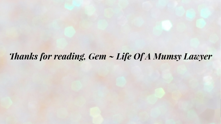 Life of a mumsy lawyer thank you for reading