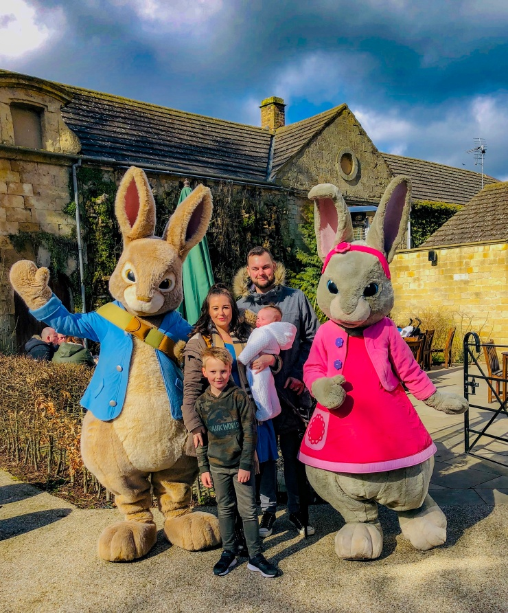 Flamingo land theme park peter rabbit