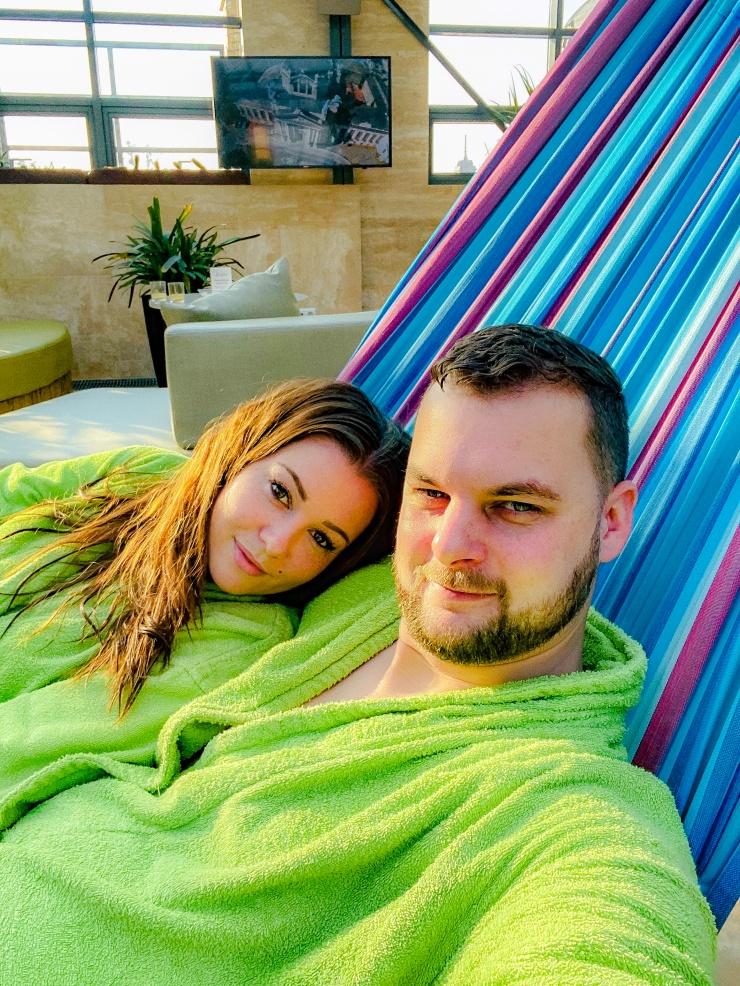 Spa spa bath Budapest relax pamper hammock